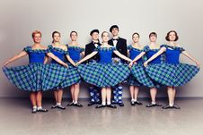Free Dancers In Kilts Royalty Free Stock Photo - 15985485