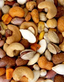 Free Nuts Wallpaper Royalty Free Stock Photos - 15985528
