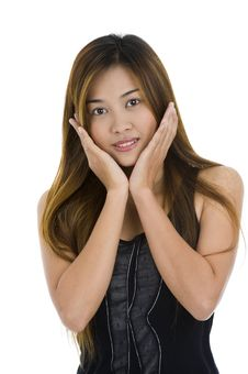 Free Beautiful Young Asian Stock Photography - 15985882
