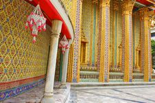Free Wat Rajabopit.The Temple In The Bangkok. Royalty Free Stock Photography - 15985907
