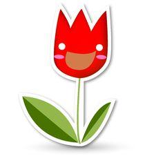 Free Happy Tulip Royalty Free Stock Photo - 15986045