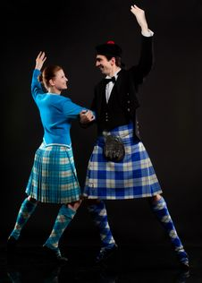 Free Scottish Dance Stock Photography - 15986362