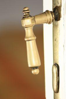 Free Old Door Handler Stock Photography - 15986542