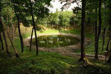 Free Kaali Meteorite Crater, Saaremaa Stock Photos - 15987373