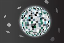 Free Vector Disco Ball Royalty Free Stock Photo - 15987615