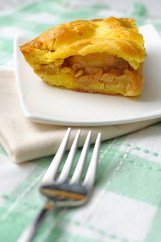 Tasty Looking Apple Pie Royalty Free Stock Image