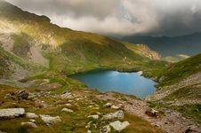 Free Goat Lake In Fagaras Mountains Stock Images - 15988264