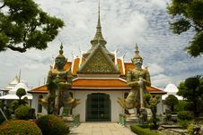 Free Tample,Thailand Stock Images - 15988444