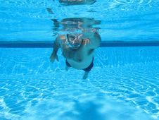 Free Swimming Underwater Photo Royalty Free Stock Photo - 15988605