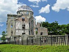 Free Hiroshima Atomic Bomb Dome Stock Image - 15988611