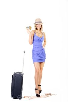 Free Travelling Woman Stock Photos - 15989153