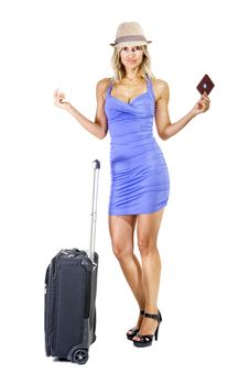 Free Travelling Woman Stock Photo - 15989160