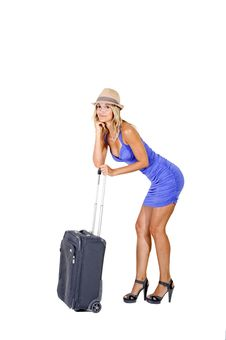Free Travelling Woman Royalty Free Stock Photography - 15989167