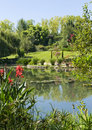 Free Monets Garden And Lily Pond Royalty Free Stock Images - 15992229