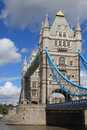 Free Tower Bridge In London, UK In A Beautiful Summer D Stock Images - 15992554