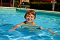 Free Child Has Fun In The Pool Stock Photography - 15993552