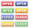 Free Open And Closed Signs Stock Images - 15994594