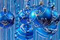 Free Blue Christmas Background Stock Photos - 15997883