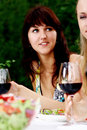 Free Group Of Young Womens Drinking Wine Royalty Free Stock Image - 15998866
