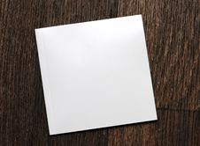 Free White-book On A Wooden Background Royalty Free Stock Photos - 15990228