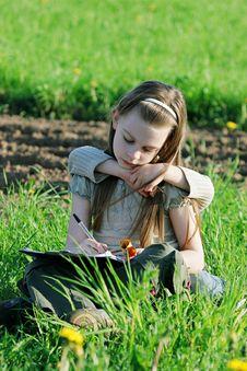 Free Children In Summer Day. Stock Photo - 15990780
