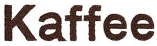 Free Kaffee Sign From Coffee Beans Stock Photos - 15990863