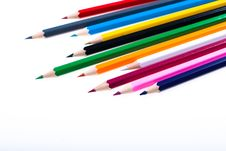 Free Colour Pencils Royalty Free Stock Images - 15992049