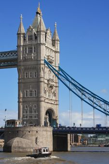 Free Tower Bridge In London, UK In A Beautiful Summer D Stock Photos - 15992383