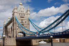 Free Tower Bridge In London, UK In A Beautiful Summer D Stock Photos - 15992473