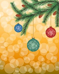 Free Christmas Background Royalty Free Stock Photo - 15992725