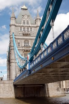 Free Tower Bridge In London, UK In A Beautiful Summer D Stock Photography - 15992852