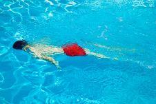 Free Child Has Fun In The Pool Stock Photos - 15993323