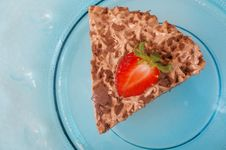 Free Chocolate Bavarian Cream Cheesecake Royalty Free Stock Image - 15993596