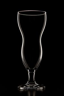 Free Glass On Black Royalty Free Stock Images - 15994019