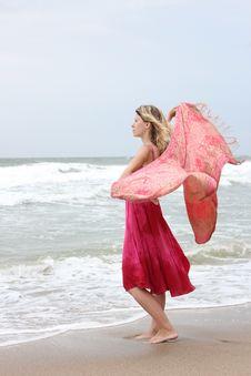 Free Woman Near The Sea Stock Photography - 15994262