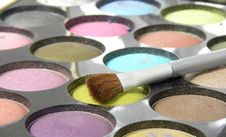 Eyeshadow Royalty Free Stock Photo