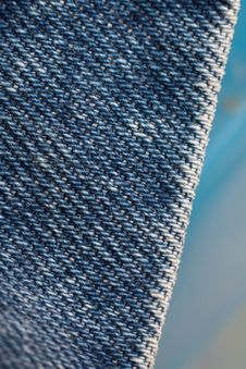 Free Pattern On Jeans Stock Photography - 15995282