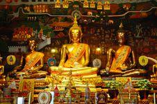 Free Ancient Buddha Royalty Free Stock Image - 15995286