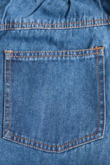 Free Pattern On Jeans Stock Photo - 15995300