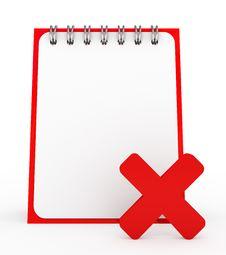 Free Empty Notepad Stock Photos - 15995393
