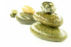 Free Zen Stones Royalty Free Stock Photo - 15996235