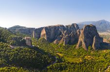 Free Meteora Monastery In Greece Stock Image - 15996661