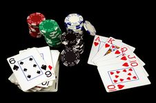 Free A Winning Hand Stock Photos - 15996673