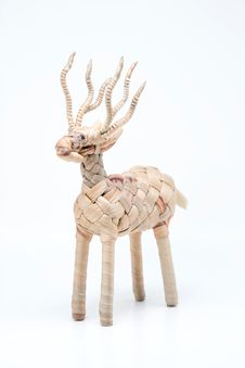 Free Isolet Of A Deer Weave Stock Photos - 15997053
