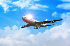 Airplane Royalty Free Stock Photos