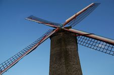 Free Bruges Windmill Royalty Free Stock Images - 15997149