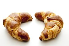 Free Croissants To The Breakfast Royalty Free Stock Photo - 15997335