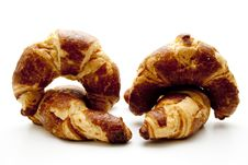 Free Croissants To The Breakfast Royalty Free Stock Images - 15997359