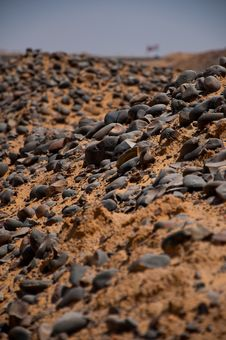 Desert Rocks Royalty Free Stock Photos