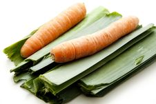 Free Leek With Carrot Stock Images - 15997564